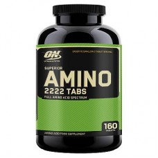 Аминокислоты Optimum Nutrition Amino 2222, 160 таб