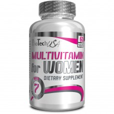Витамины Biotech Nutrition Multivitamin for Women 60 таб