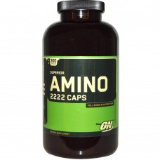 Аминокислоты Optimum Nutrition Amino 2222, 300 капс