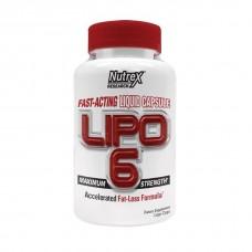 Жиросжигатель Nutrex Lipo-6 120 капс