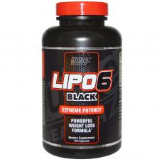 Жиросжигатель Lipo-6 Black 120 капс