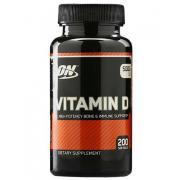 Витамин D Optimum Nutrition Vitamin D 5000 200 капс