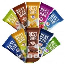 Протеиновые батончики BestBar 60г. 20 шт Вкусы на ваш выбор