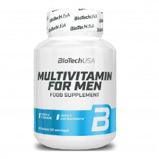 Витамины Multivitamin for Men Biotech USA 60 таб