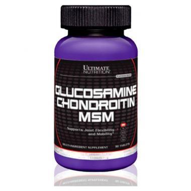 Глюкозамин Хондроитин МСМ Ultimate Nutrition 90 таб.