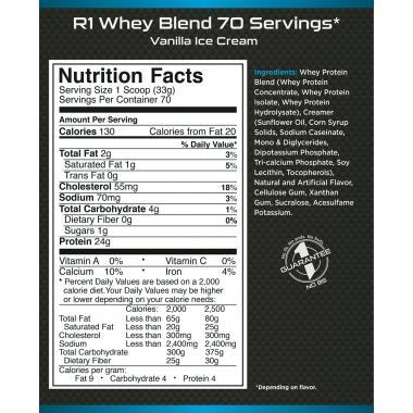 Протеин Rule 1 R1 Whey Blend - 2270 г