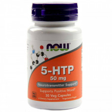 5-HTP NOW  50мг - 30 капс