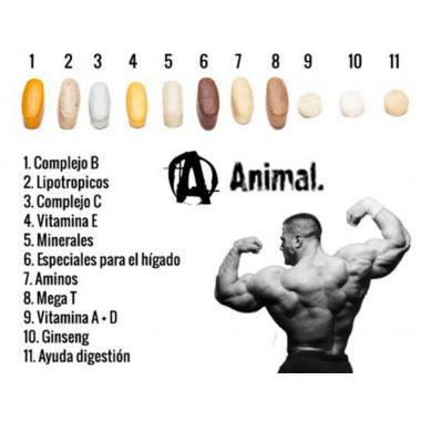 Витамины Animal Pak Universal Nutrition  44 пак