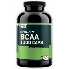 Бца Optimum Nutrition BCAA 1000 400 капс