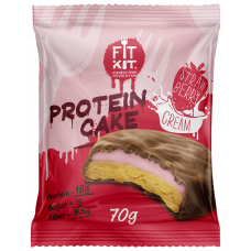 Протеиновое печенье Fit Kit Protein Cake 70 г