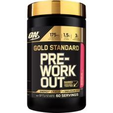 Предтренировочный комплекс Optimum Nutrition Gold Standard PRE-Workout 600 г