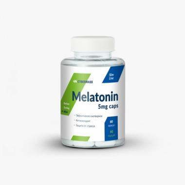 Мелатонин CyberMass 5 mg 60 капс