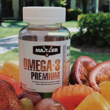 Омега 3 Maxler Omega-3 Premium 60 капс