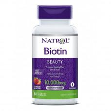 Биотин - Biotin Natrol 60 таб - 10000 мкг