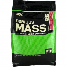 Serious Mass Optimum Nutrition гейнер 10lb - 5400 г