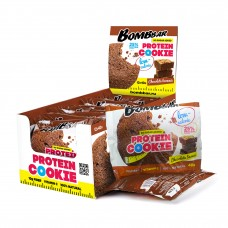 Протеиновое печенье Bombbar 40 г - 12 шт