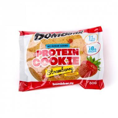Протеиновое печенье  60г. Bombbar 20 шт